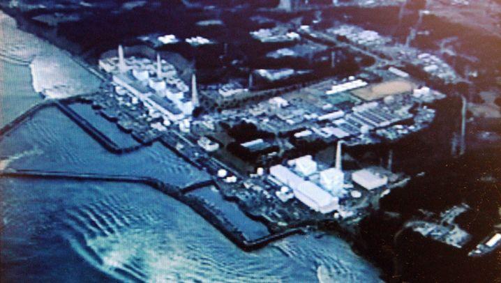 Unglücks-AKW: Flutwelle rast auf Fukushima zu