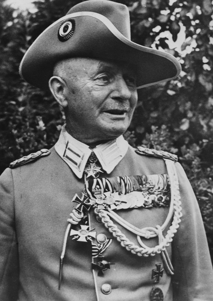 General Paul Von Lettow-Vorbeck, circa 1917