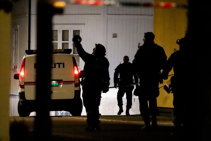 Die Polizei habe am Abend Garagen und Hinterhöfe im Stadtzentrum abgesucht