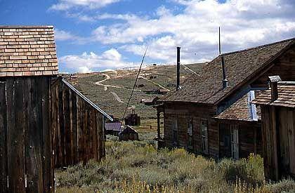 Great Basin Desert: Geisterstadt