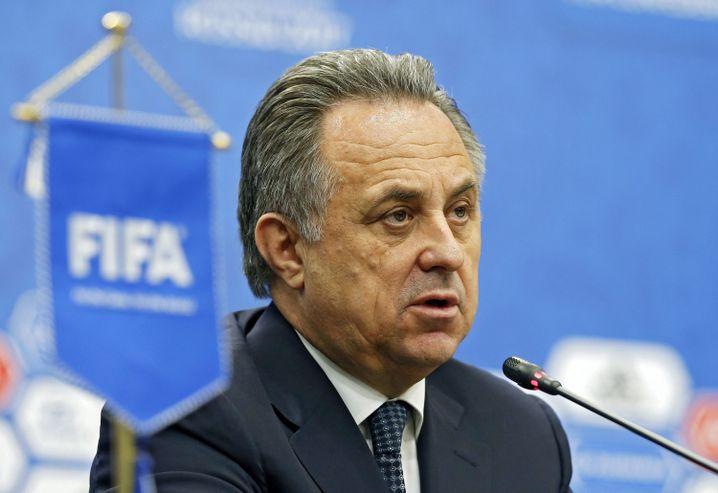 Das ehemalige Fifa-Council-Mitglied Witali Mutko