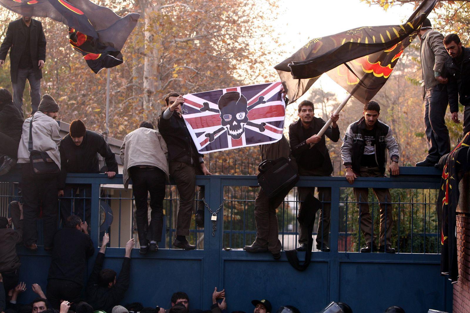 Iran / Britische Botschaft