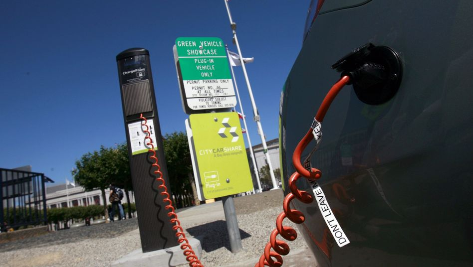 A new fleet of e-cars is nearing the starting line.