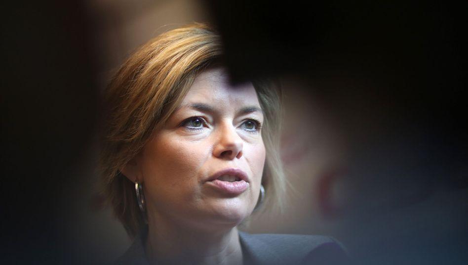 CDU-Vize Julia Klöckner: Eigene Agenda in der Flüchtlingskrise