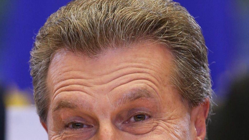 """IT-Kommissar Oettinger: """"Vor Dummheit kann man Menschen nur eingeschränkt bewahren"""""""