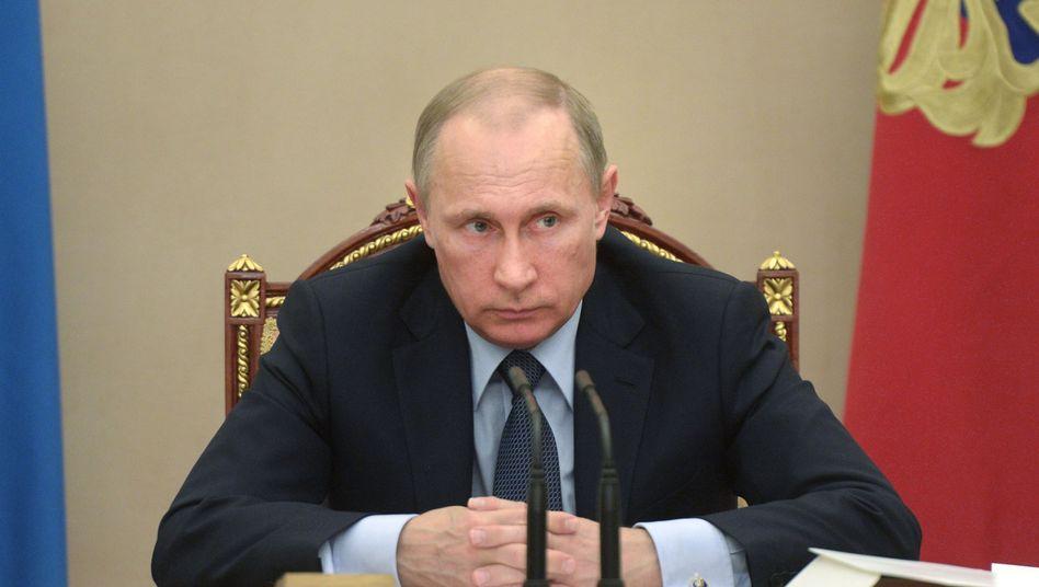 Russlands Präsident Putin: Putin: Wem gelten die Angriffe?