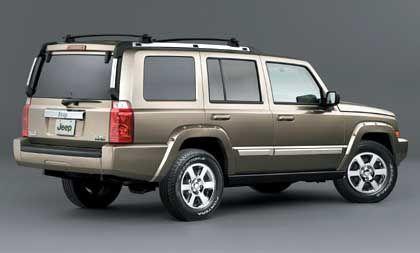 Jeep Commander: 2006 kommt er nach Europa