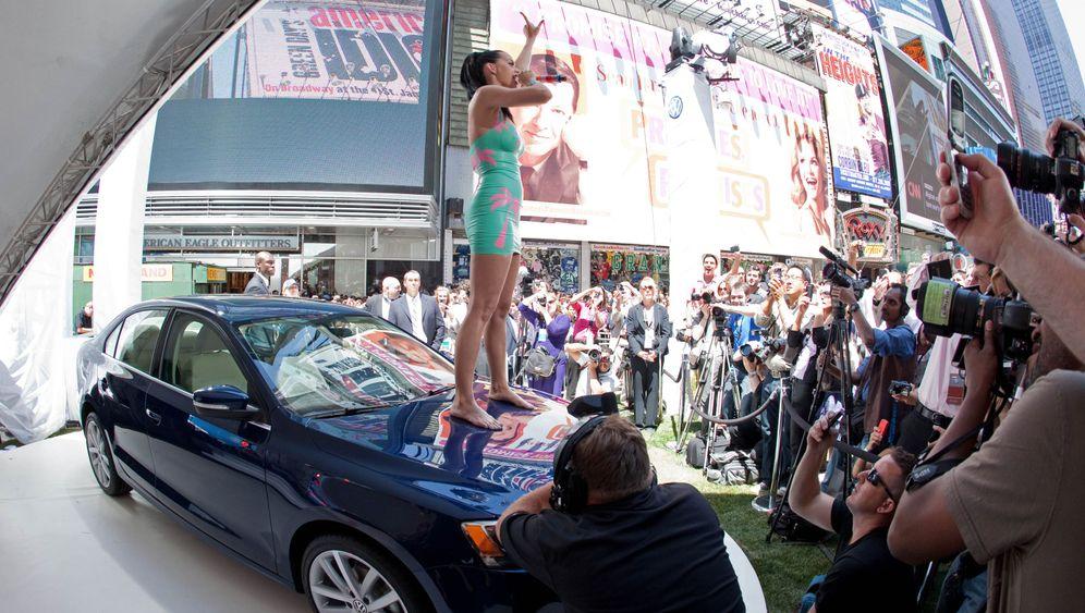 VW Jetta: Ballyhoo am Times Square