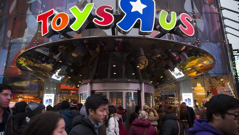 Toys R Us-Filiale auf dem Times Square in New York (2014)