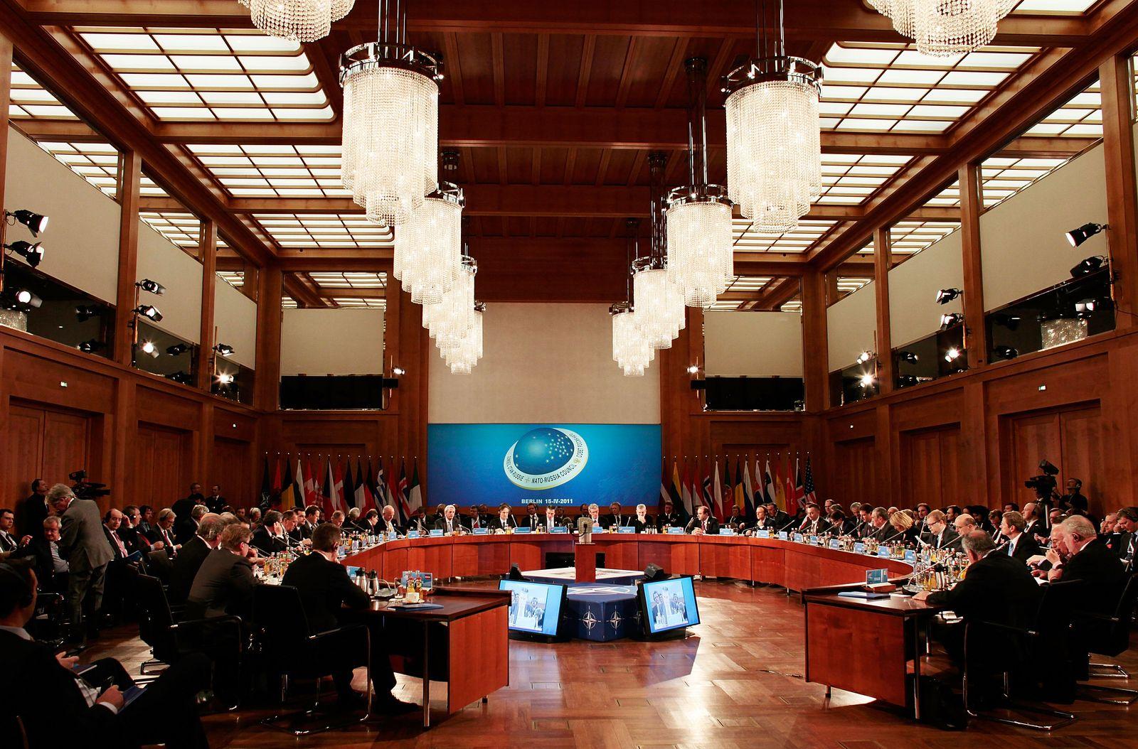 NATO-Treffen / Berlin