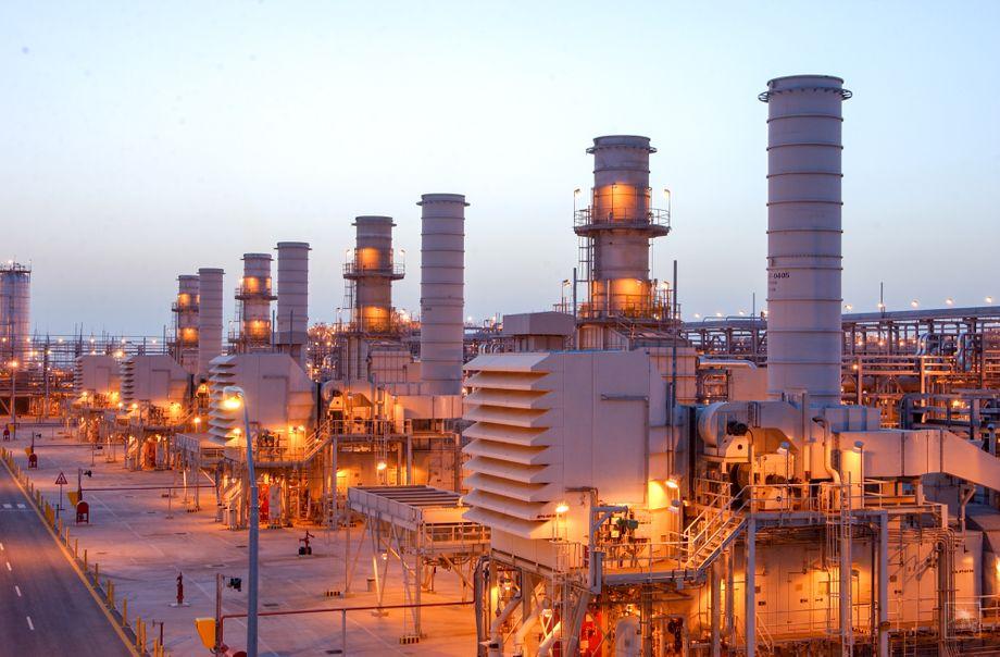 Ölfeld Ghawar in Saudi-Arabien