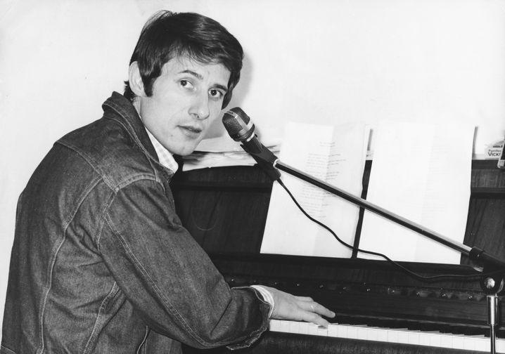 Udo Jürgens am Klavier 1967