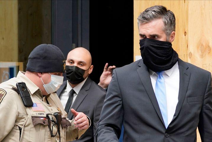 Thomas Lane ist einer von vier Hauptbeschuldigten