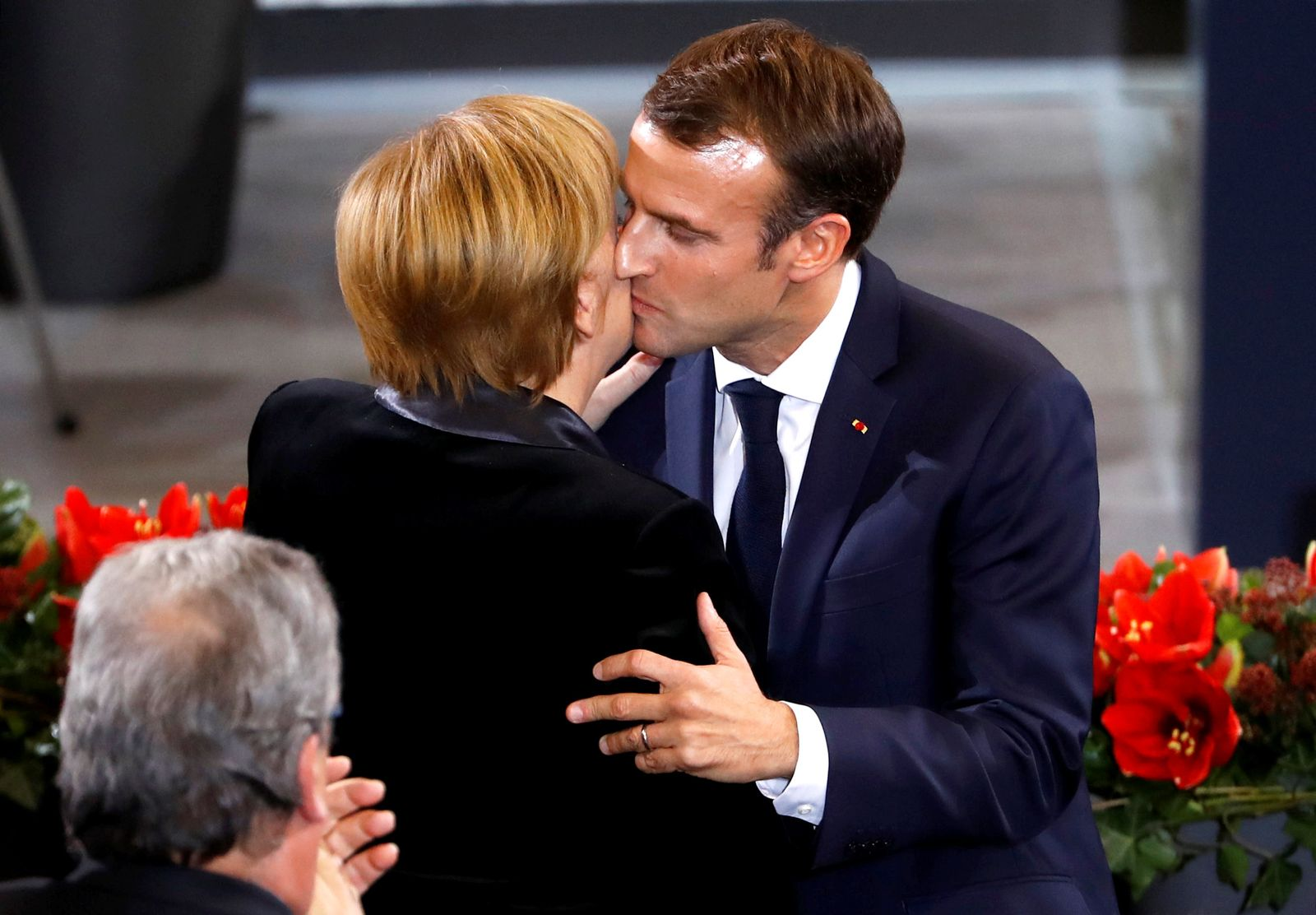 Emmanuel Macron/ Berlin