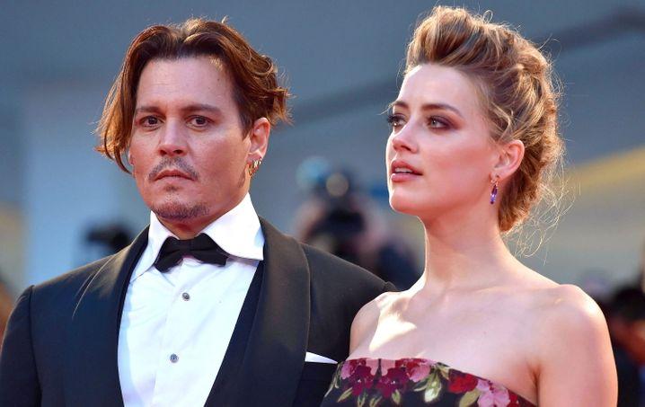 Johnny Depp und Amber Heard im September 2015