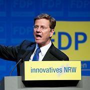 """FDP-Chef Westerwelle: """"Liberal sind wir schon, aber blöd sind wir nicht"""""""
