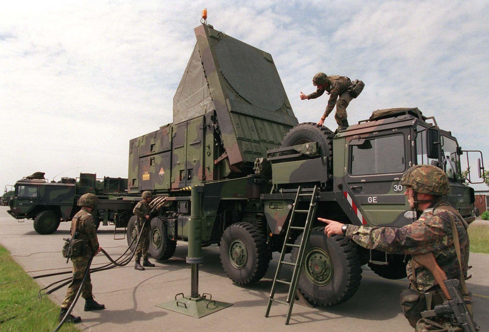 Patriot/ Radaranlage