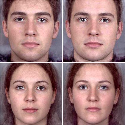 Frau maskulines gesicht Maskulines Gesicht