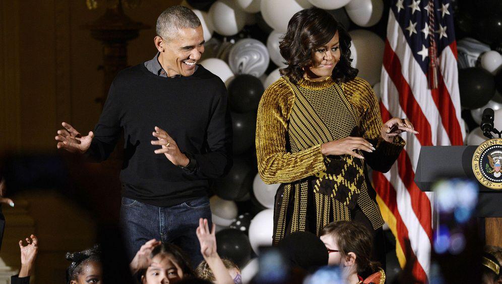 Die Obamas: Prominente Konzertbesucher