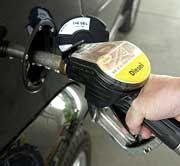 Dieselzapfpistole: In fünf Jahren auf dem Preisniveau von Benzin