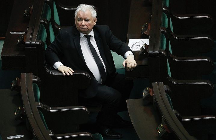 Jarosław Kaczyński, head of the Law and Justice party (PiS): Pressure on Warsaw and Budapest will increase.