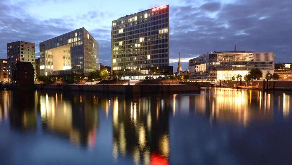 Verlagsgebäude des SPIEGEL in Hamburg