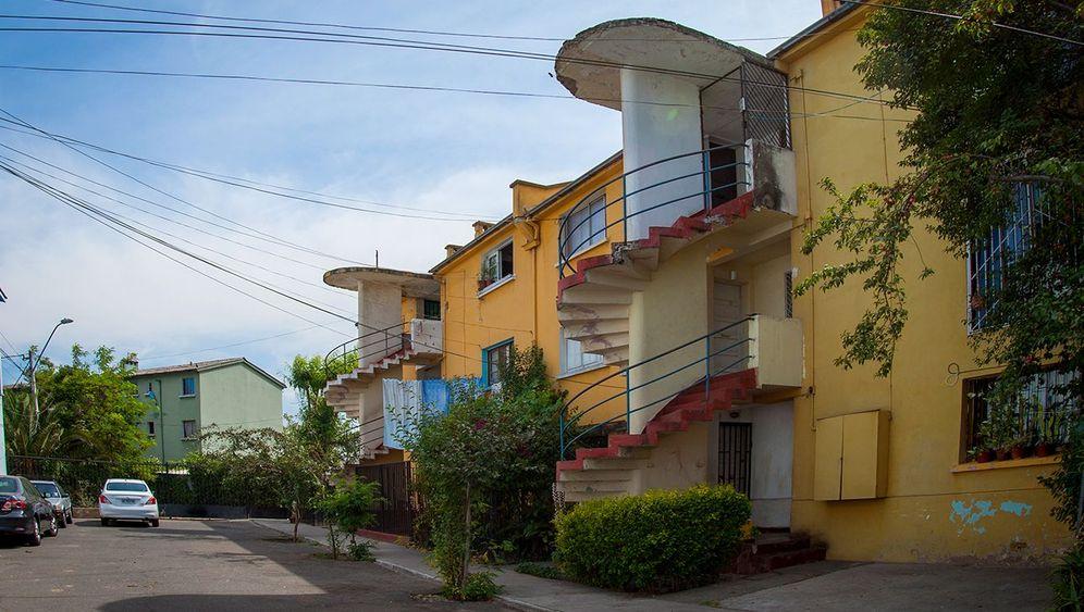 Bauhaus in Chile: Balkone mit Rhythmus!