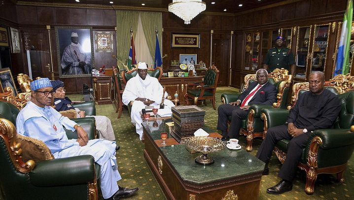 Westafrika: Machtkampf in Gambia