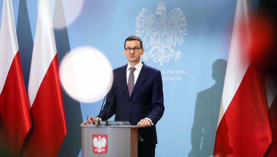 Polens Premier Mateusz Morawiecki