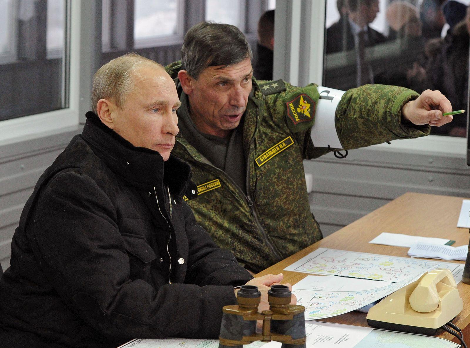 Putin/ Militärübung