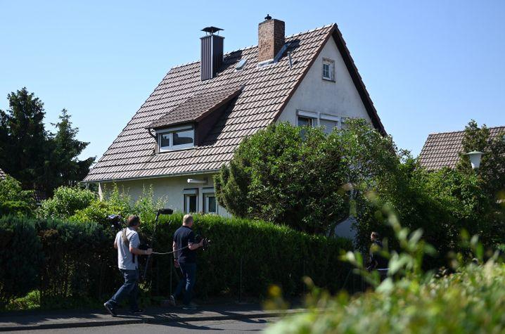 Unscheinbares Wohnviertel: Das Haus der Familie E. im Osten von Kassel