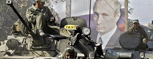 Russische Soldaten in Südossetien: Armee richtet Kontrollposten im georgischen Zentralland ein
