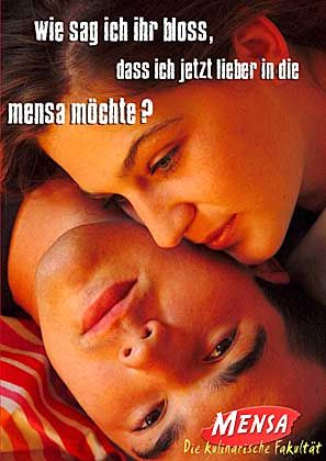 Kantine mit Anziehungskraft: Die Mensa als Beziehungskiller?