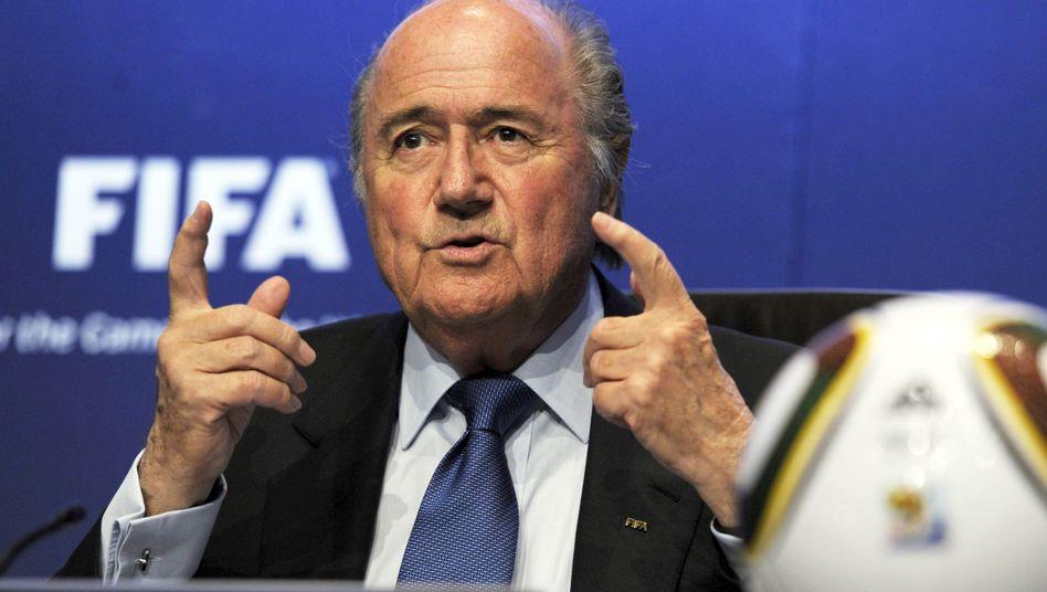 """Fifa-Präsident Blatter: """"Wir müssen dieses Thema wieder diskutieren"""""""