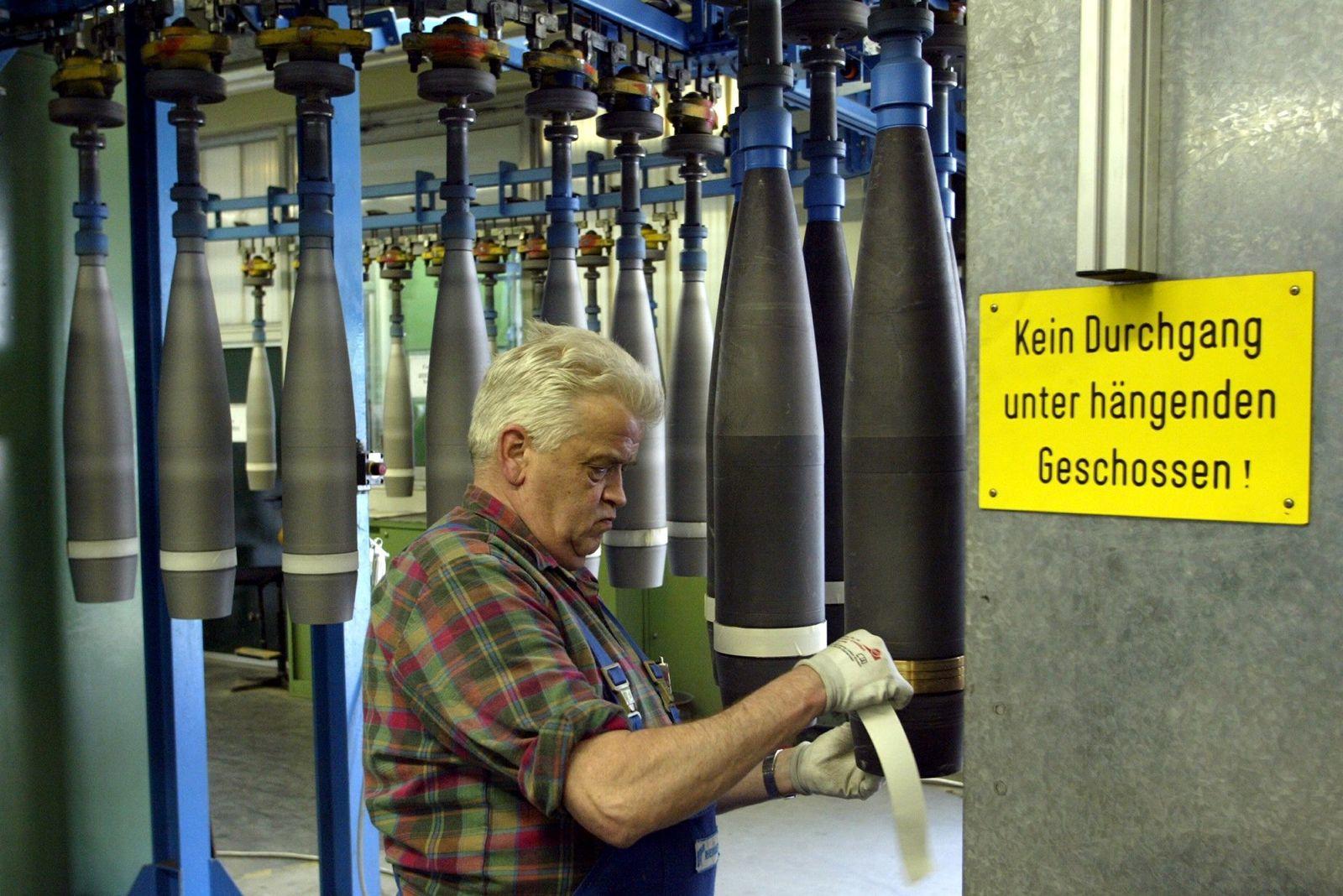 NICHT VERWENDEN Rheinmetall / Ältere Arbeitnehmer / Rheinmetall / Rüstung