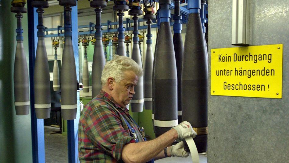 """Älterer Mitarbeiter von Rheinmetall: """"Es besteht Handlungsbedarf"""""""