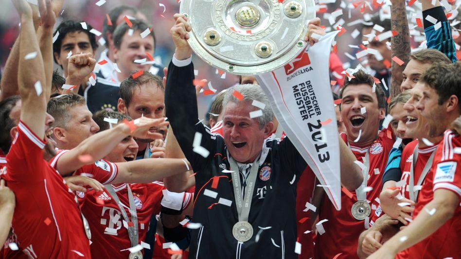 Jupp Heynckes bei der Meisterschaft 2013