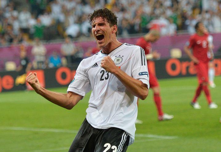 Gomez beim EM-Spiel gegen Portugal 2012