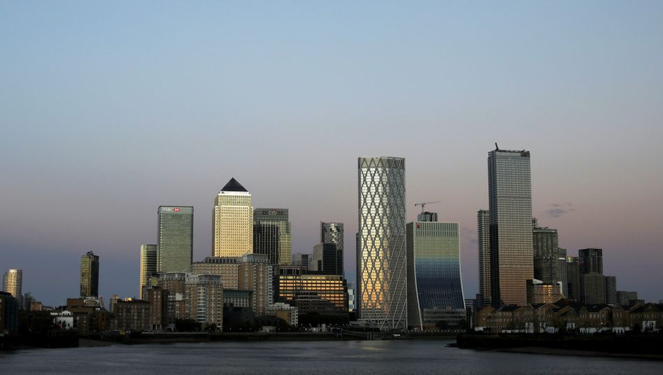 Londoner Finanzviertel Canary Wharf: Starke Abwanderung von Finanzhäusern
