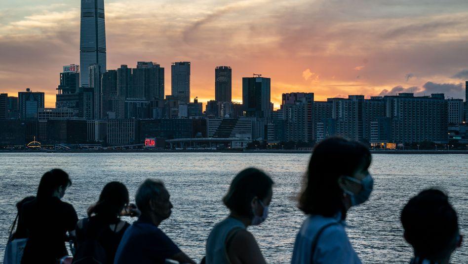 Streitpunkt zwischen China und Großbritannien: Hongkong
