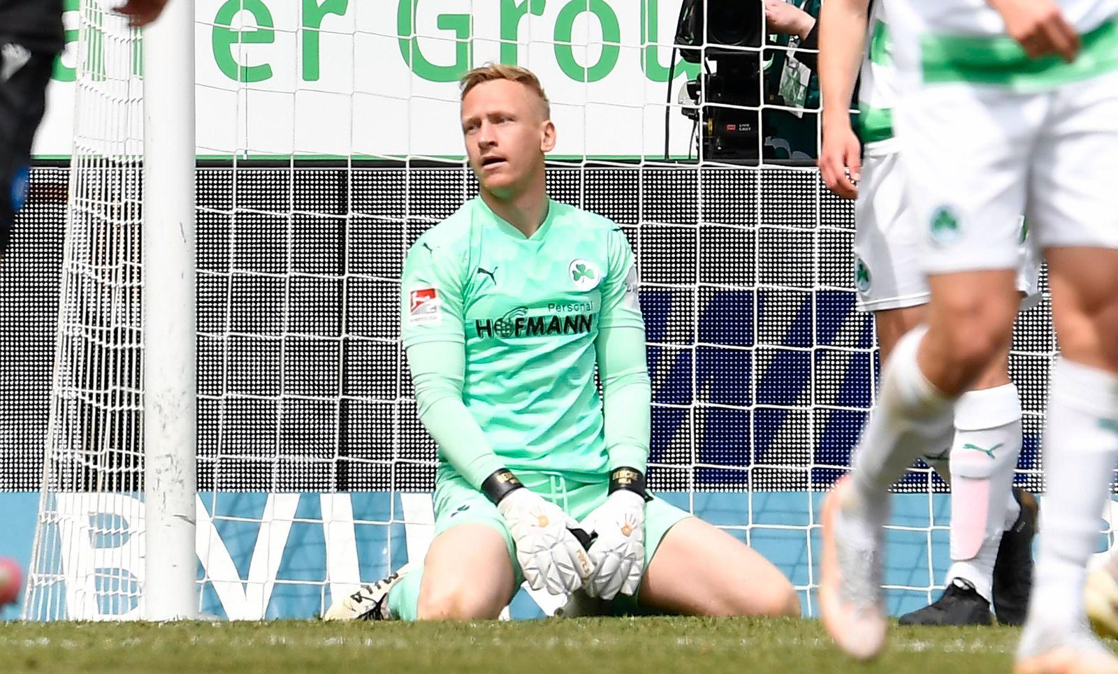 08.05.2021 - Fussball - Saison 2019 2020 - 2. Fussball - Bundesliga - 31. Spieltag: SpVgg Greuther Fürth ( Kleeblatt )