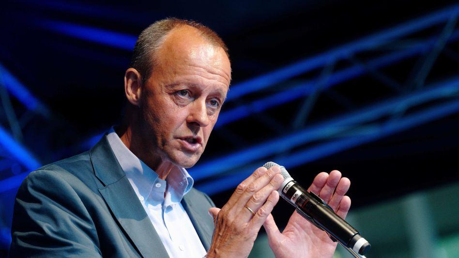 CDU-Politiker Merz: »Ich habe ihm das auch gesagt«