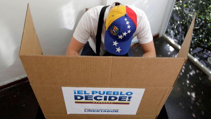 Protest in Venezuela: Millionen gegen Maduro