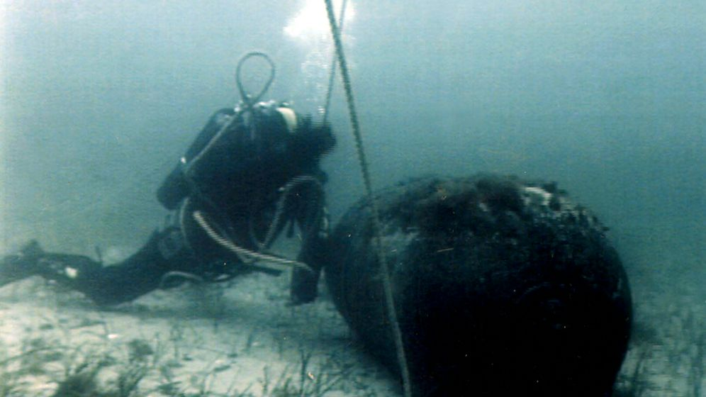 Photo Gallery: WWII Munitions in the North and Baltic Seas