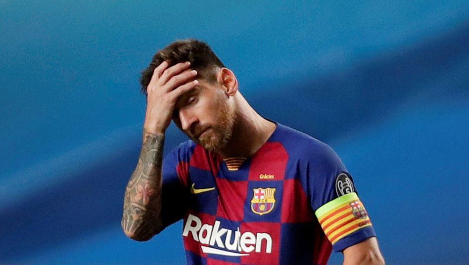 Zukunft ungewiss: Lionel Messi und der FC Barcelona