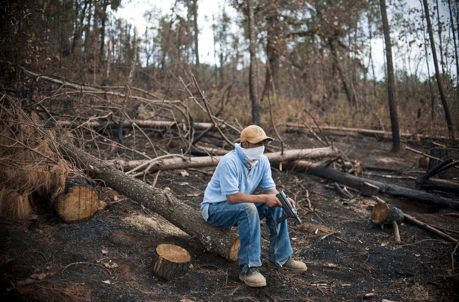 MEXICO-ILLEGAL-LOGGERS-VIOLENCE