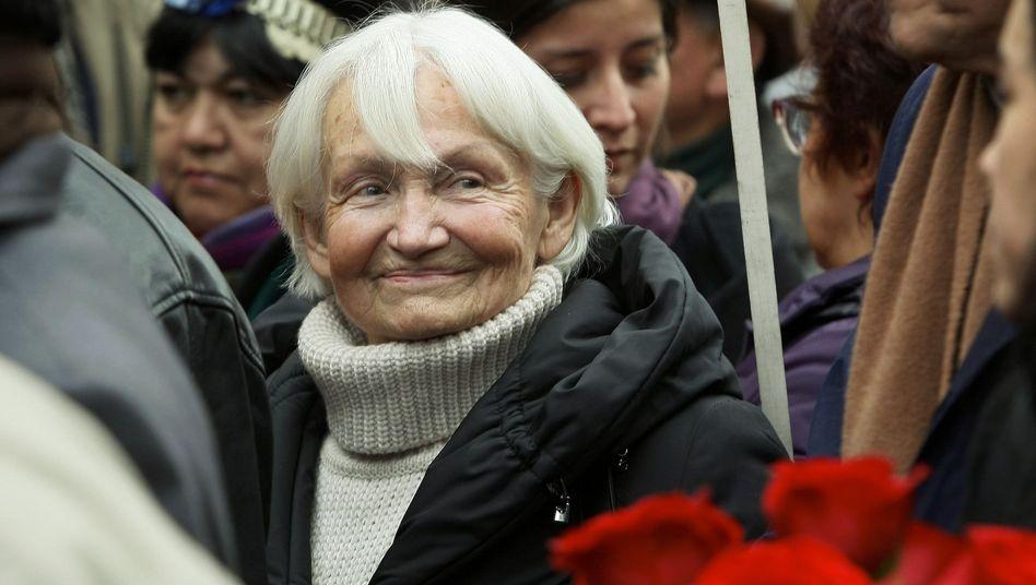 """Margot Honecker (im Juli 2010): """"Man brauchte ja nicht über die Mauer zu klettern"""""""