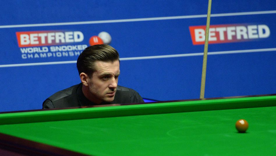 Snooker-Star Mark Selby