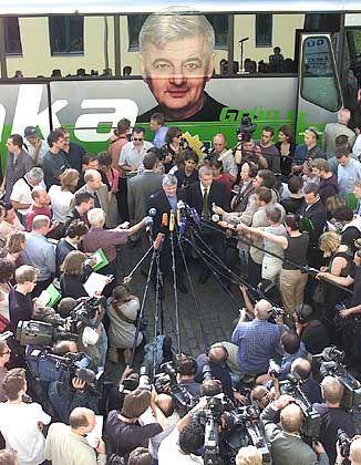 """Joschka auf Reisen: Die Grünen sind wieder """"in"""""""