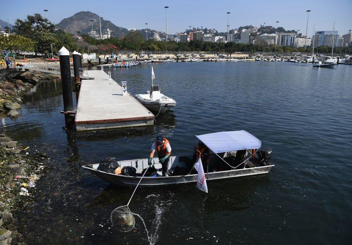 Der Dreck in Rios Gewässern ist nicht verschwunden
